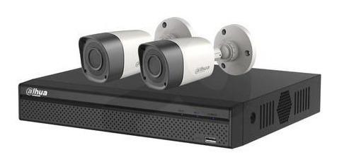 Kit Seguridad Dahua Dvr 4 + 2 Camaras Ext 720p 1mp + 1tb