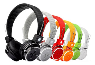 Fone De Ouvido Bluetooth Fm P2 Mp3 Sem Fio Wireless Super Qualidade De Som