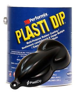 Plasti Dip Pintura Removible Galón Tacho 3.8 Litros Negro Mate Black Aplicación Automotor Tuning Personalización