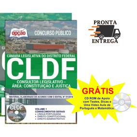 Apostila Cldf 2018 Consultor Legislativo - Área: Justiça