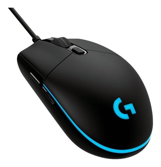 Mouse Gamer Logitech G Pro Hero 16k Rgb Lightsync 16000dpi