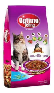 Alimento Optimo Felino gato adulto mix 20kg