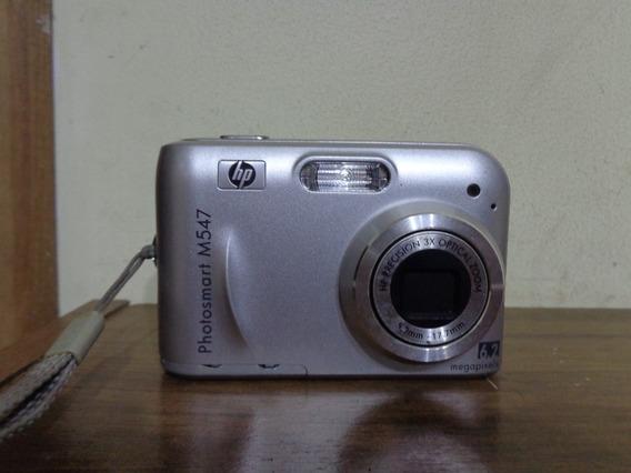 Maquina Fotografica Hp Photosmart M547 Defeito Leia Anuncio