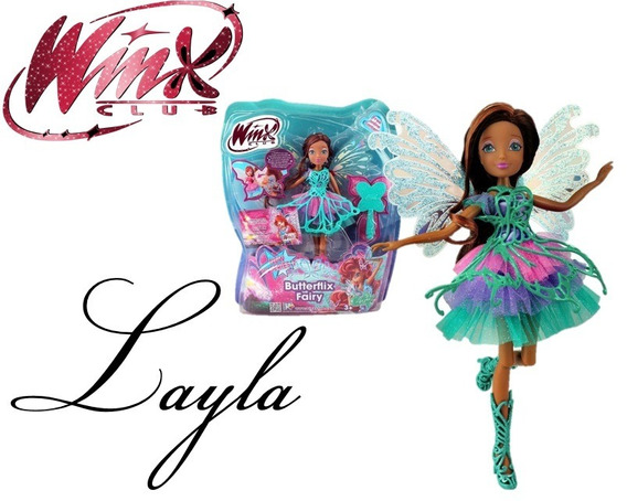 Boneca Winx Club - Butterflix Fairy - Layla - À P/ Entrega!!