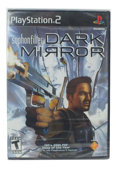 Jogo Para Ps2 Syphonfilter Dark Mirror Teen A7633