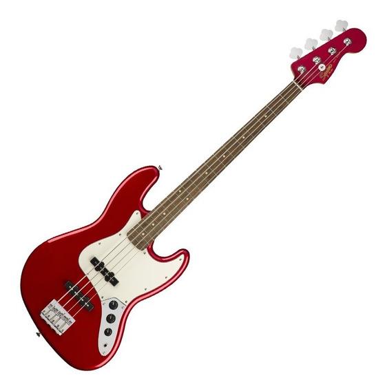 Contrabaixo Fender Jazz Bass Squier Contemporary Dark Red