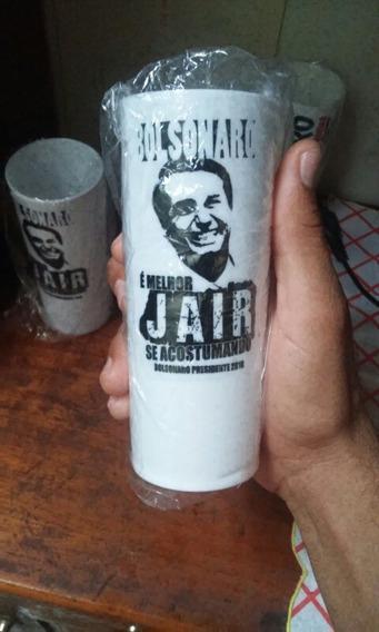 Copos De Long Drink Do Bolsonaro 50 Unit.
