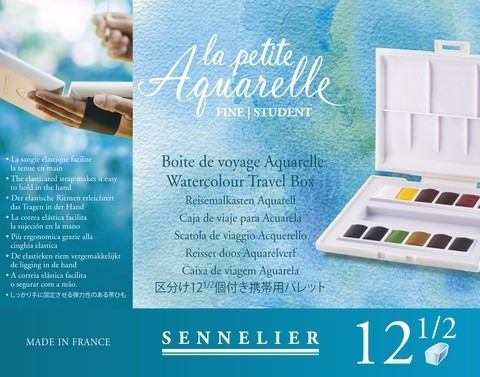 Acuarela Sennelier Pastillas Por 12 Un La Petite Aquarelle