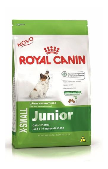 Ração Royal Canin X-small Junior Cães Filhotes 2,5 Kg