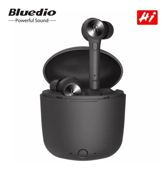Fone De Ouvido Bluedio Hi Bluetooth 5.0 Tws Sem Fio C/ Nf-e