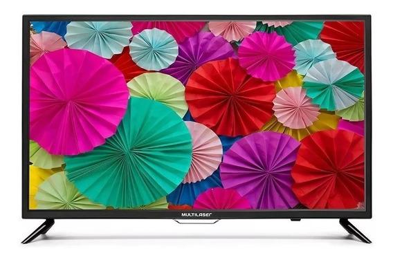 Monitor Multilaser Hd 32 Hdmi Usb Rca Tl005-nao E Tv