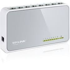 Switch Tp-link Tl-sf1008d /8 Puertos Rj45 Mdi/mdix Ecológica