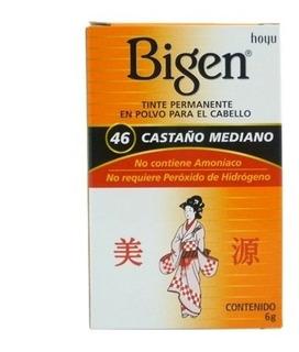 Tinte Natural Bigen Para Cabello Cubre Canas / Sin Amoniaco