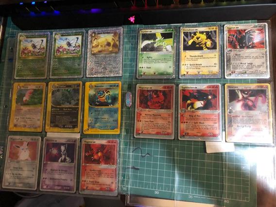 Lote 131 Cartas Raras Pokemon Tcg - Vintage - Frete Grátis