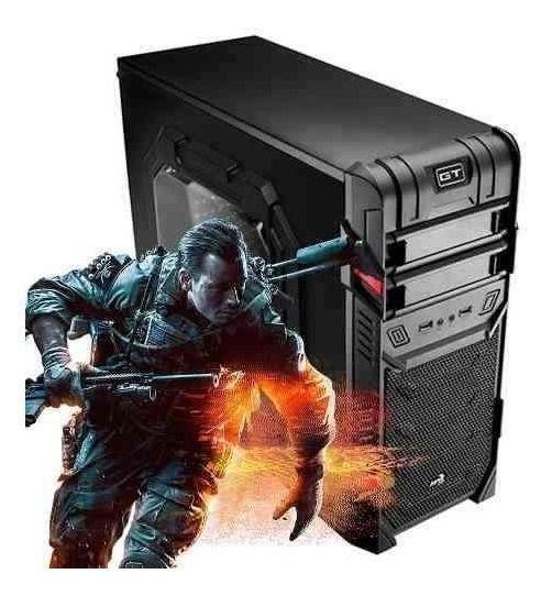 Pc Cpu Gamer I5 8gb 1tb Hd Gtx 1060 6gb + Kit Gamer!