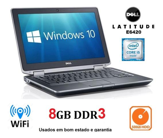 Kit 3 Notebook Dell I5 E6420 8gb Hd 500gb