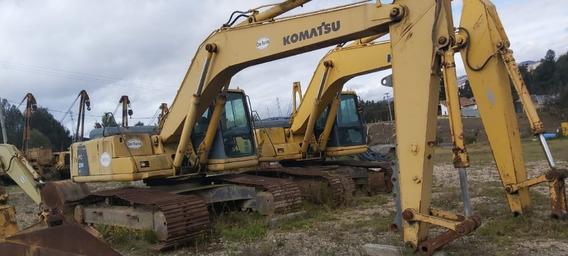 Excavadora Komatsu Modelo Pc200lc-6le Año 1999