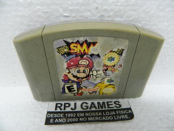 Super Smash Bros Original Salvando Nintendo 64 N64 + Loja Rj