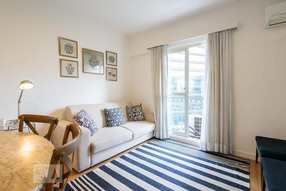 Apartamento Para Aluguel - Vila Olímpia, 1 Quarto, 33 - 893115807