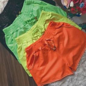 Shorts Molinho Neon Moda 2019 Carnaval