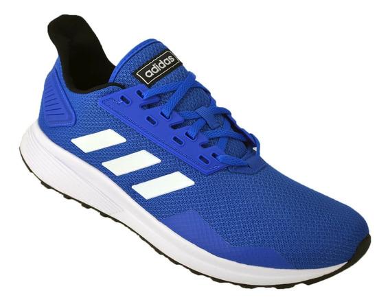 Zapatilla Hombre adidas Duramo 9 Running Original Azul