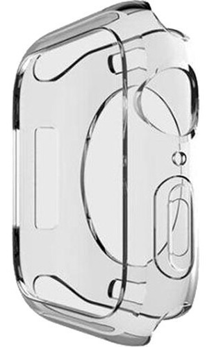 Imagem 1 de 7 de Case Protetor Tpu P/ Apple Watch Serie 4/5 Transparente 40mm