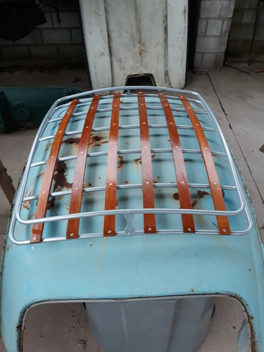 Bagageiro Old Style Fusca