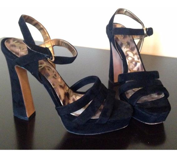Plataformas Zapatos Zapatillas Sam Edelman Negro Pumps