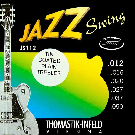 Corda Para Guitarra Thomastik - Infeld Jazz Swing Js112t