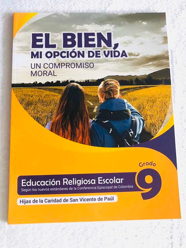 Libro De Educación Religiosa Grado 9 Hijas De La Caridad