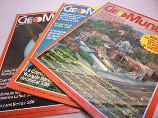 Revista Geomundo Año 1981 Numeros 1 Al 3 (3)