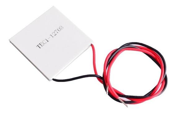 Placa Celda Peltier Termoelectrica Tec1-12703 36w 30x30 Mm