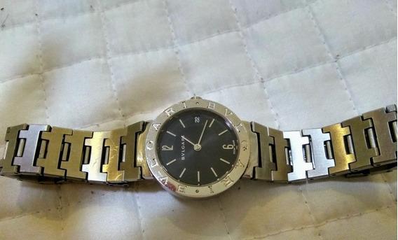 Relógio Bvlgari Bb 33 Ss Quartz L 9030 Fabricado Na Suíça