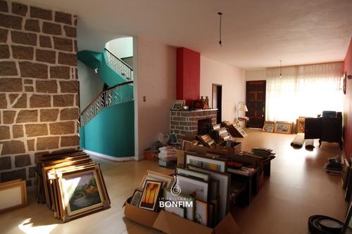 Casa Comercial Com 3 Dormitórios À Venda Com 582m² Por R$ 2.300.000,00 No Bairro Batel - Curitiba / Pr - Cm0058