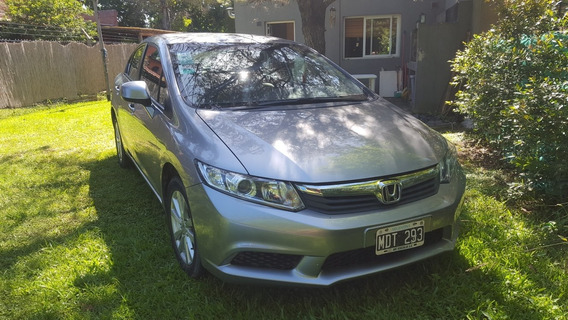 Honda Civic 1.8 Lxs At 140cv 2013 -urgente-