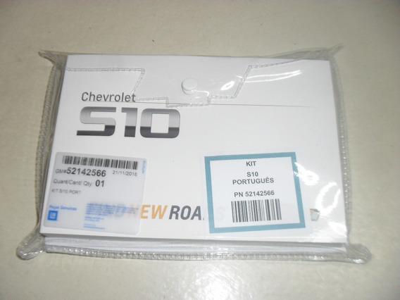 Manual Proprietário Chevrolet S10 2016 A 2019 Gm Em Branco