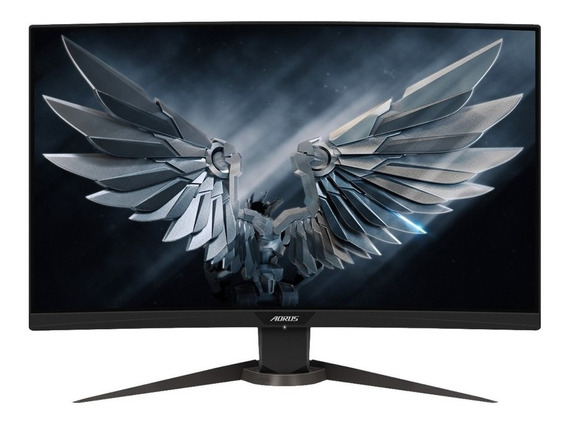 "Monitor Gigabyte CV27F LED 27"" negro 110V/220V"