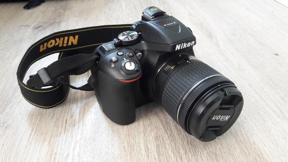 Câmera Nikon D5300 Kit Lente Af-p Dx 18-55mm Vr