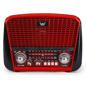 Radio Vintage Retro Antigo J107 Altomex Am Fm Pilha Usb