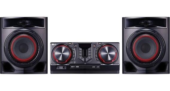 Mini System Lg Bluetooth Usb Mp3 440w Cj44