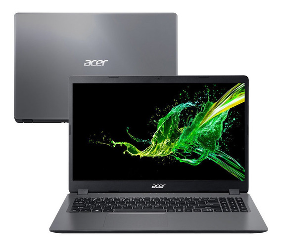 Notebook Acer 4gb, 1000gb, Preto, Led 15,6 + Mochila Acer