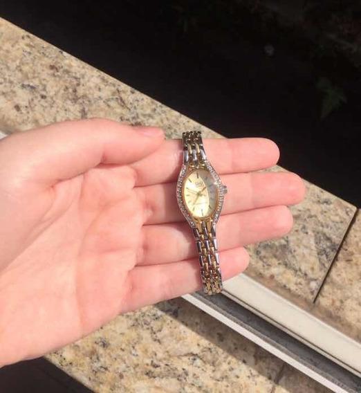 Relógio Q&q Quartz Resistente À Água