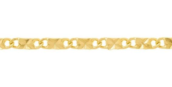 Cordão Rommanel 50 Cm Fio Diamantado E Batido 530645