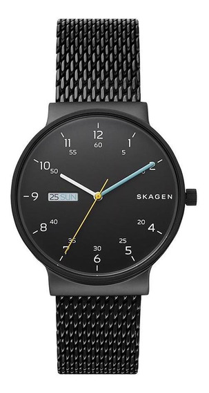 Relógio Skagen Masculino Ancher Preto - Skw6456/1pn