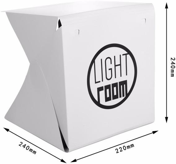 Mini Estúdio Softbox Portátil Dobrável De Fotografia