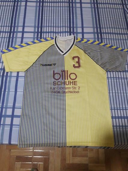 Hummel Camisa Gg #3 Cor Bege De 1987