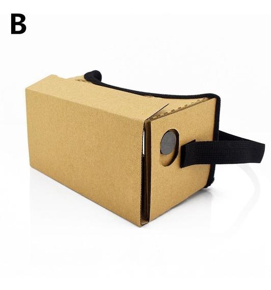 Realidade Virtual culos Google Papel?o Amarelo 3d culos
