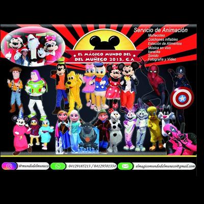 Show Casa De Mickey, Frozen, Spiderman,capitán América Y Mas