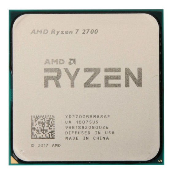 Processador Gamer Amd Ryzen 7 2700 De 8 N 16 Threads Am4