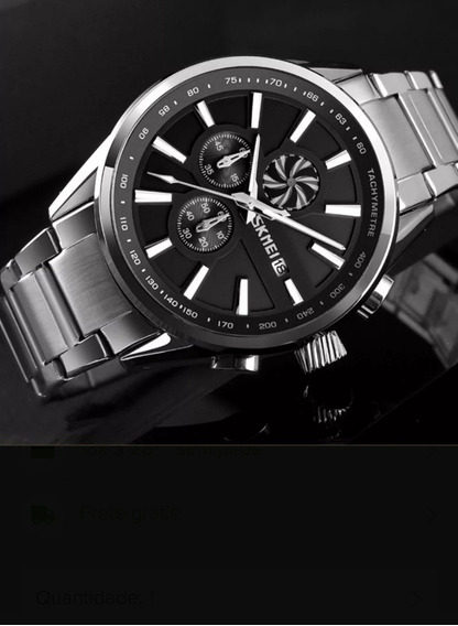 Relógio Masculino Skmei Original 9175